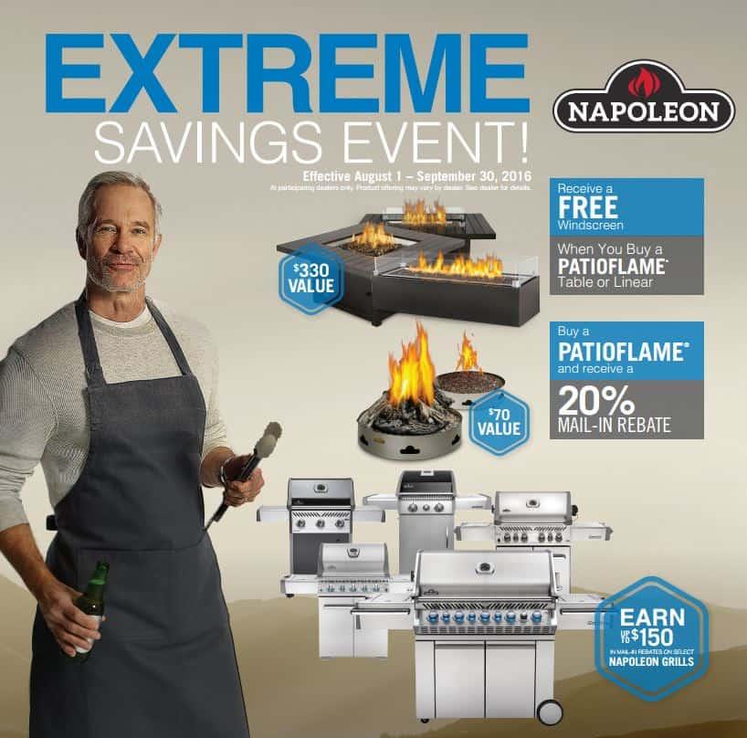 Extreme BBQ savings