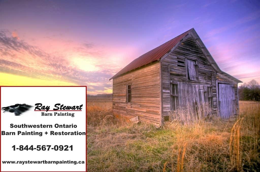Very nice rustic barn pre paint