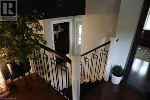 Home interior staircase